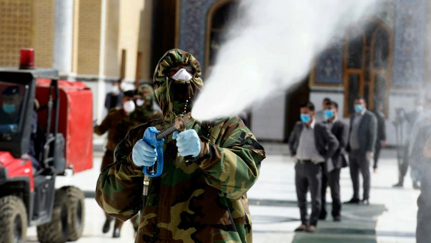 Iran, Iraq: After Protesters' Repression, Shia Militias Play the Health Defenders Role